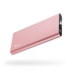 アマゾンでKYOKA 金属成形超薄型モバイルバッテリーがタイムセール中。