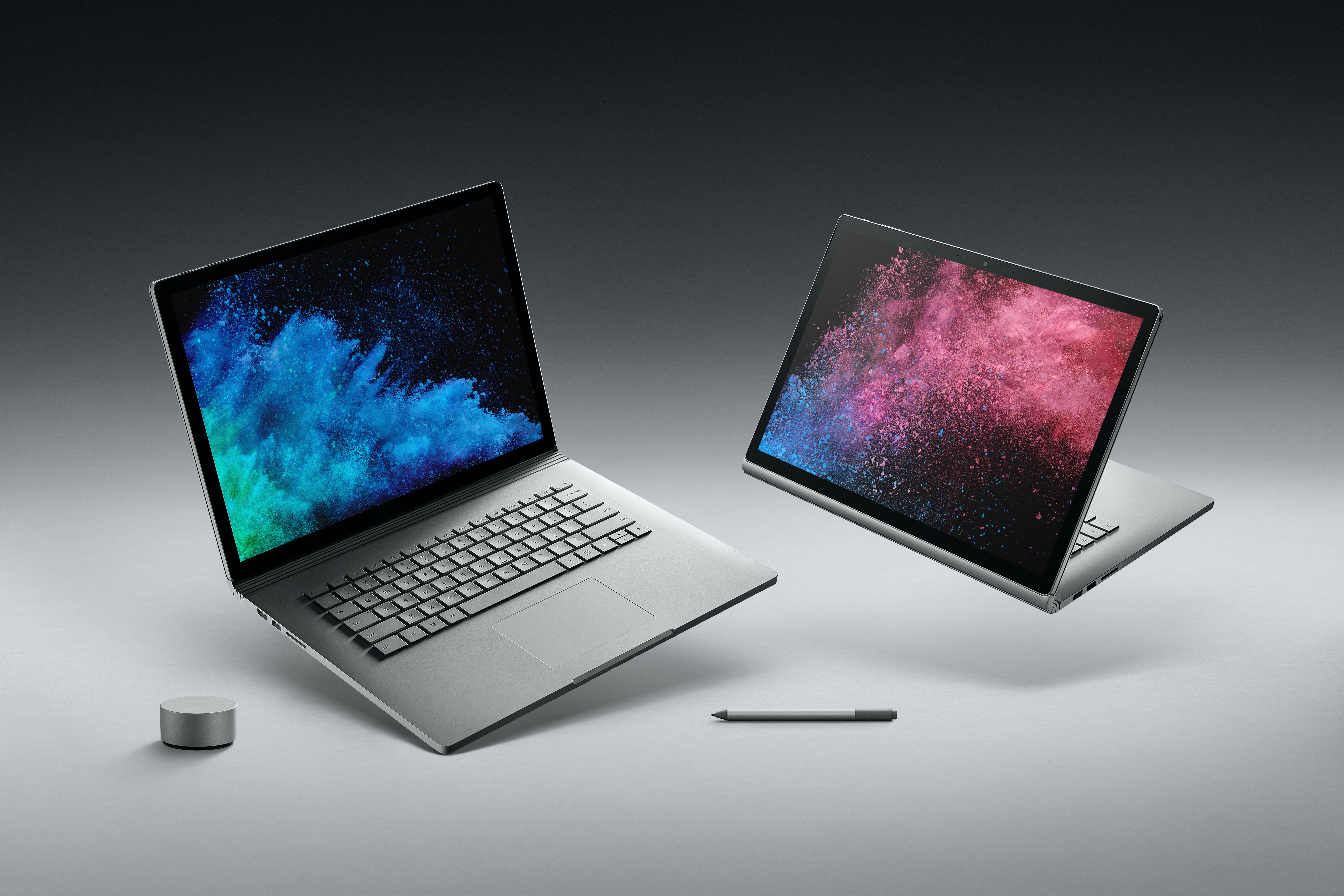 マイクロソフトがSurface Book 2 (15インチ モデル)、Surface Pro LTE Advanced予約開始、4/6より発売へ。