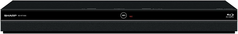 アマゾンでシャープ 1TB 3チューナー AQUOS ブルーレイレコーダー BD-NT1000が37800円。