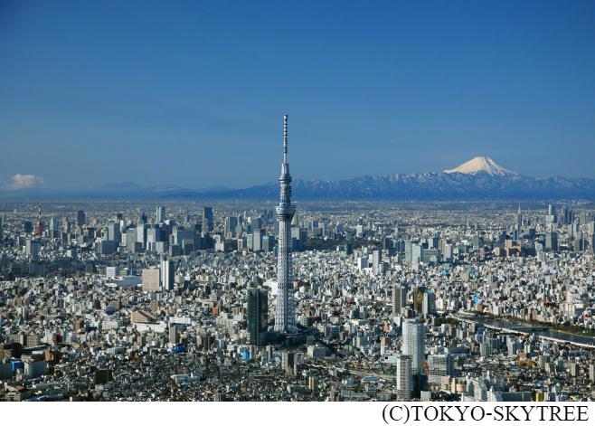 東京スカイツリーの展望台の割引クーポンを配信中。最大620円オフ。~3/31。
