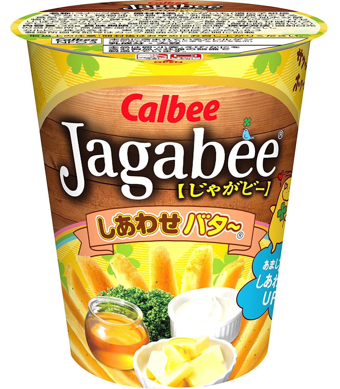 アマゾンでカルビー Jagabee しあわせバター、じゃがりこサラダが1個あたり100円以下という超コスパで投げ売り中。