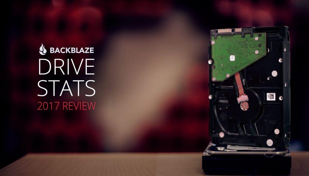 ストレージ業者のBackblazeがメーカー別HDD故障率2017版を発表へ。シーゲートは壊れない。