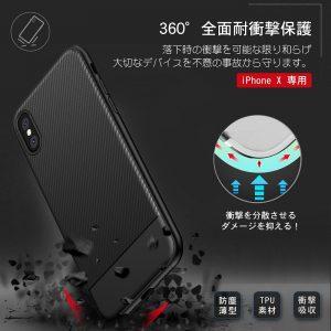 楽天スーパーDEALでiPhoneXの超軽量耐衝撃ケースがポイント半額バックで販売中。~翌朝10時。
