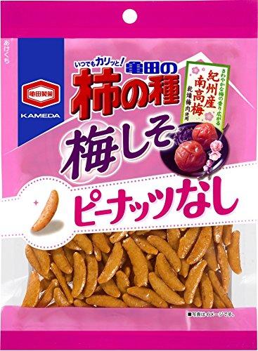 アマゾンで亀田製菓 亀田の柿の種梅しそ100% 105g×12袋が1309円⇒895円。