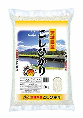 アマゾンで【精米】茨城県産 白米 コシヒカリ 10kg 平成29年産が4380円⇒2628円、5kgで1314円セール。