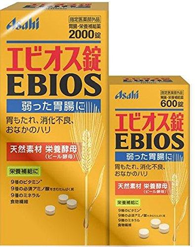 アマゾンでエビオス錠2600粒が3099円⇒1980円。