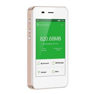 アマゾンタイムセールでクラウドSIM対応のjetfi G3 モバイルWi-Fiルーター 5350mAhバッテリーが19800円⇒16830円。