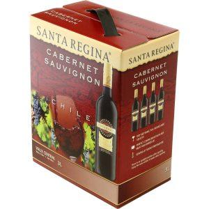 アマゾンでワイン3Lが2192円⇒1624円。サンタ・レジーナ カベルネソーヴィニヨン バッグインボックス 3000ml。