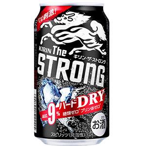 プレモノで『キリン・ザ・ストロング ハードドライ(350ml缶×1本)』が抽選で15000名に当たる。イオンで引き換え可能。~4/22 12時。