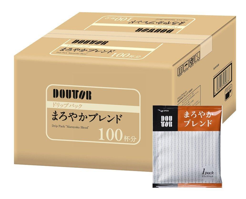 アマゾンでドトールコーヒー ドリップパック まろやかブレンド100Pが2355円⇒1767円。