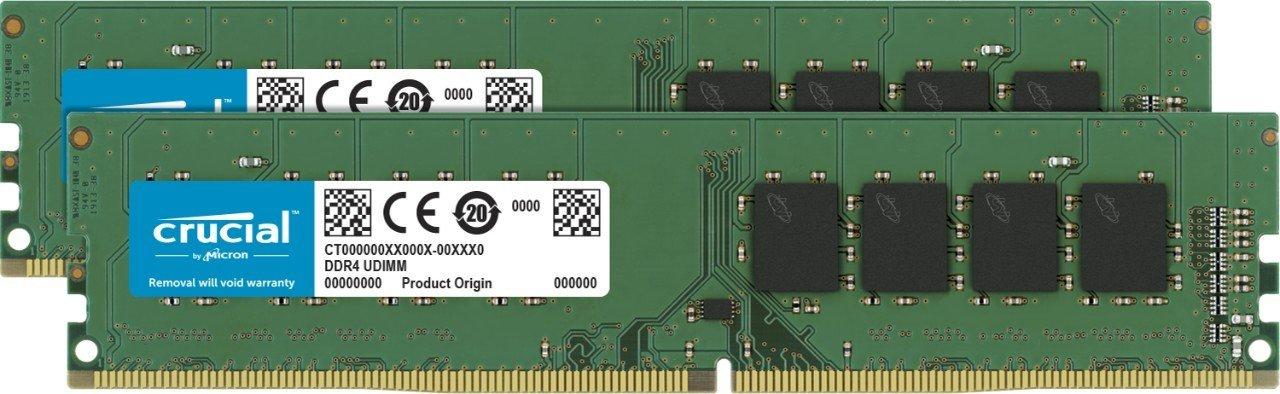 アマゾンで売れ筋No1のCrucial [Micron製] DDR4 デスク用メモリー 8GB x2 2133が23978円⇒13607円。