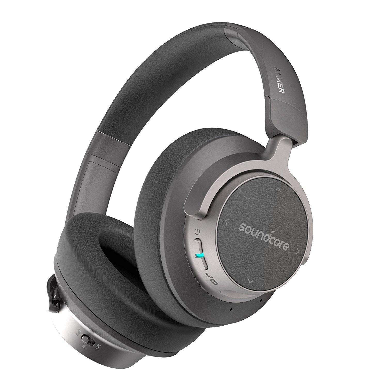 アマゾンでAnker初のBluetoothノイズキャンセリングヘッドフォン「Soundcore Space NC」が発売へ。初日限定数量限定セール。「Soundcore Vortex」も発売。5/22~。