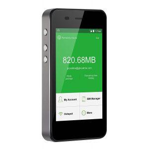 【情弱認定】アマゾンでGlocalMe G3 モバイルWiFiルーター simフリー 1.1GBグローバルデータパック付が20990円⇒16600円。