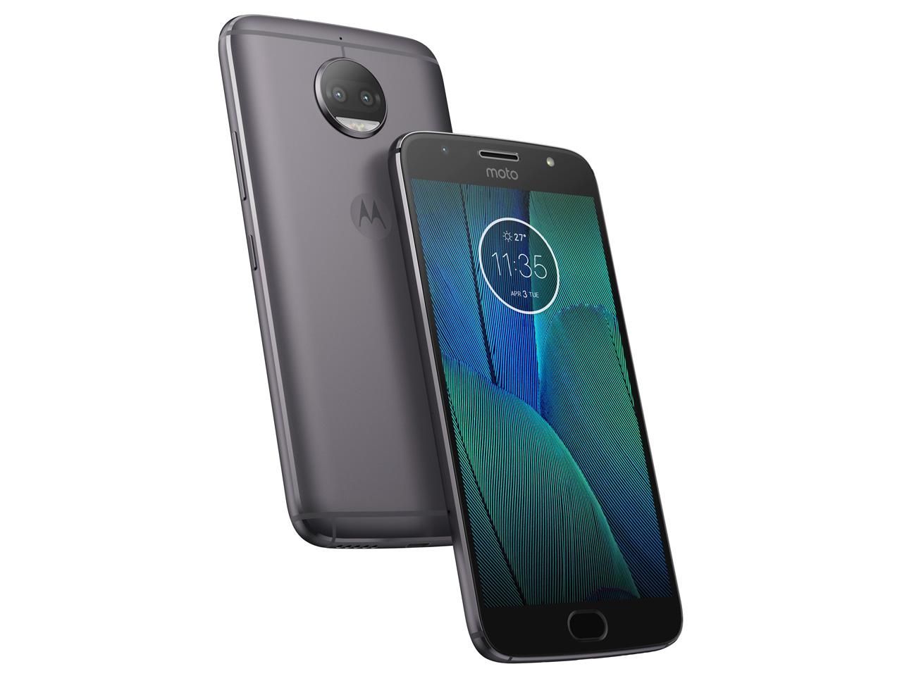 アマゾンがモトローラが5.5型Androidスマートフォン「Moto G5S Plus」を28310円でセール中。