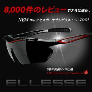 楽天スーパーDEALでサングラス エレッセ +交換レンズ5枚+専用ケースが9800円でポイント半額。ES-7001-H。~明日10時。