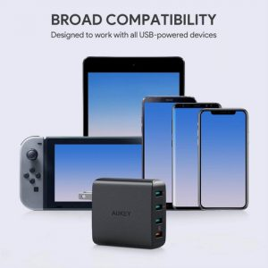 アマゾンでAUKEY USB充電器  Quick Charge 3.0 搭載  PA-T18の割引クーポンを配信中。