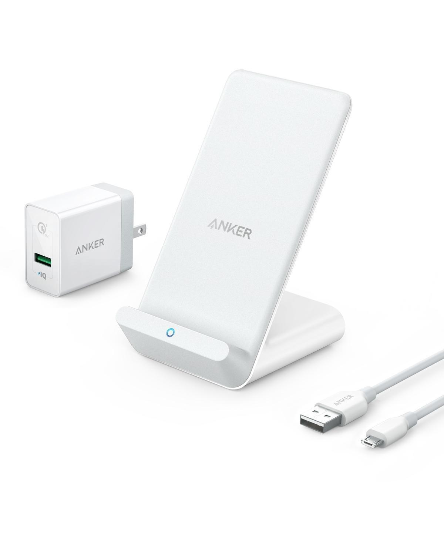 アマゾンでAnker PowerWave 7.5 Pad/Standがタイムセールで販売中。