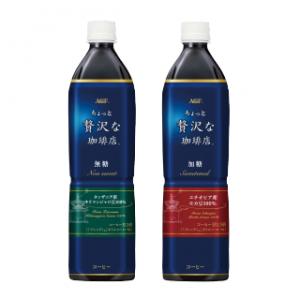 モラタメで味の素AGF「「ちょっと贅沢な珈琲店®」ボトルコーヒー900ml 2種12本」が3600円⇒1800円、1本150円。