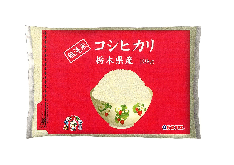 アマゾンで栃木県産 無洗米 コシヒカリ 10kgが5080円⇒2902円。
