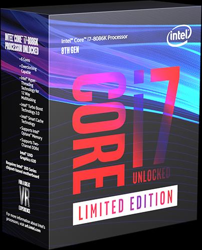 Intelが公式に5GHzを達成した創立50周年モデル「Core i7-8086K」を抽選で8086名に配布予定。日本も応募可能。6/8 9時~6/9 9時。