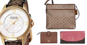 楽天スーパーDEALでCOACHのハンドバッグ、ウォレット、ウォッチなどがポイント数十%バックで販売中。