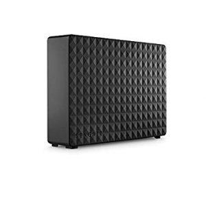 アマゾンでSeagate 外付けハードディスク 4TB 3.5インチ USB3.0 STEB4000100がタイムセール中。