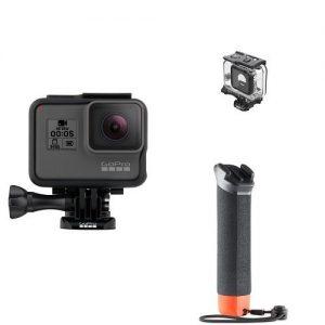 アマゾンでGoPro ウェアラブルカメラ HERO5+ 水中ハウジング・ハンドラー3点セットが投げ売り中。とは言え中華製が8000円出せば買える時代。