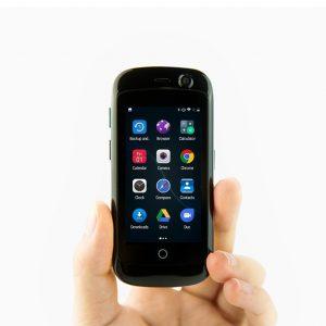 アマゾンで世界最小のLTEスマートフォン、Jelly Pro、2GB/16GB/Android 7.0がセール中。モバイルルーター代わりとして、iPadのお供としてどうぞ。