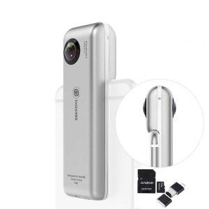 アマゾンでINSTA360 Nano 360°全天球パノラマ式カメラや4Kビデオカメラの割引クーポンを配信中。~7/13、7/15。