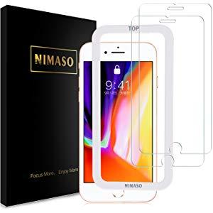 アマゾンでNimasoのiPhone・iPad用ガラスフィルムが特選タイムセール。