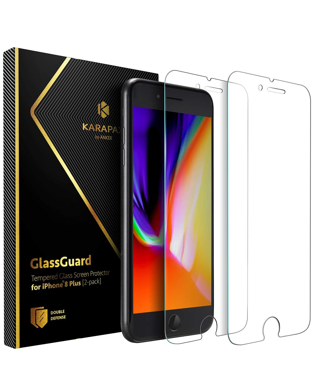 アマゾンでAnkerのiPhone用ガラス液晶フィルム、Anker KARAPAX GlassGuardシリーズがセール中。
