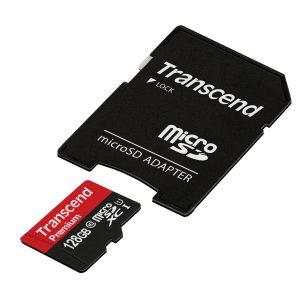 アマゾンでTranscend microSDXCカード 128GBが4480円⇒3832円。