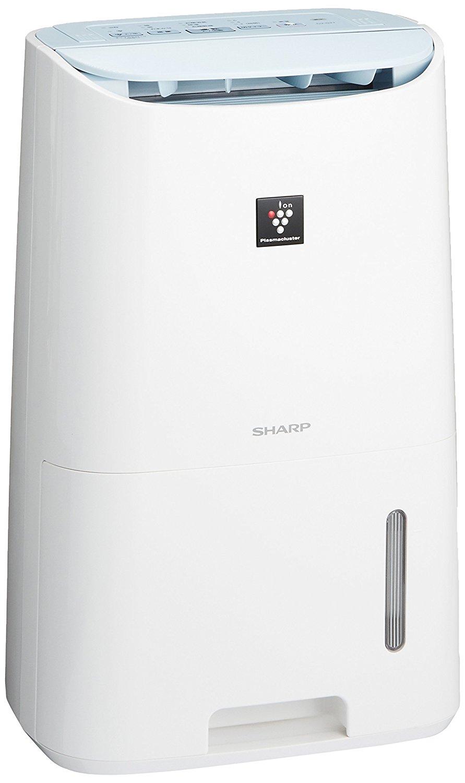 アマゾンタイムセールでシャープ プラズマクラスター除湿機 コンプレッサー方式  CV-G71-Wが20480円⇒19441円。