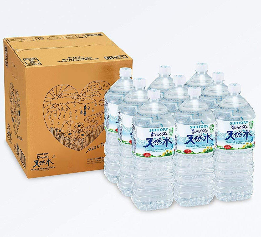 アマゾンでサントリー 南アルプスの天然水 2L×9本が値下げしてセール中。