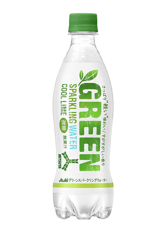 アマゾンでアサヒ飲料「三ツ矢 グリーン スパークリングウォーター PET460ml」×24本が2331円⇒1851円、1本77円。