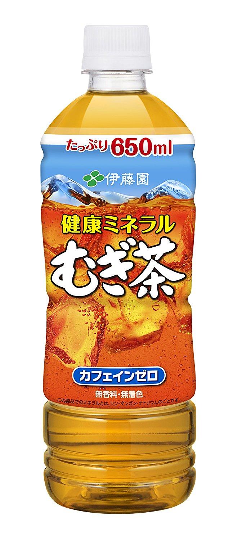 アマゾンで「伊藤園 健康ミネラルむぎ茶 650ml×24本」がセール中。無香料・無着色・カフェインゼロ。毎年容量が増えている。