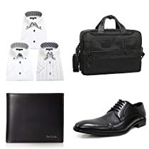 アマゾンでビジネスファッションのポールスミス、トゥミ、ダンヒルなどのバッグ、財布、スーツ、Yシャツ、シューズ、時計、ベルトなどが大量にセール中。