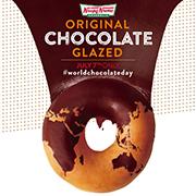 クリスピードーナツで『オリジナル・チョコグレーズド』がもれなく貰える。7/7限定。