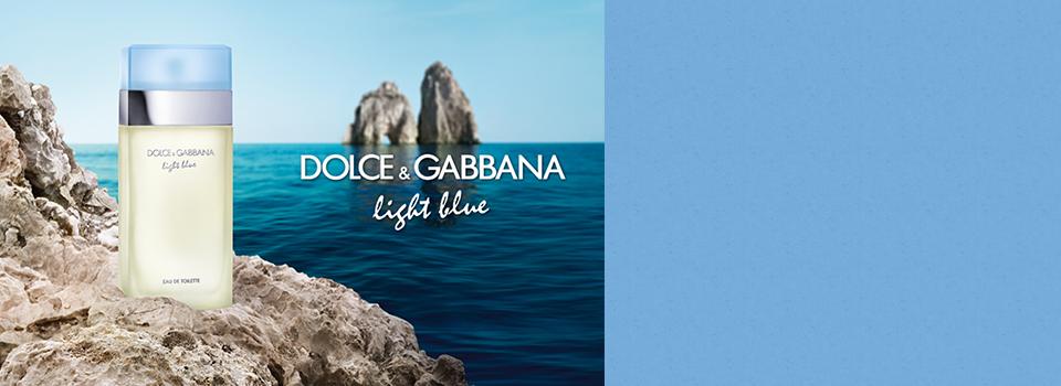 資生堂で【ドルチェ&ガッバーナ】フレグランス ライトブルーが抽選で1万名に当たる、