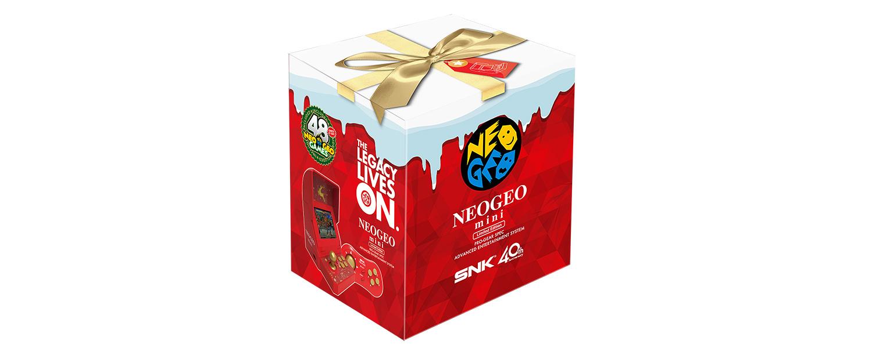 【クリスマスカラー追加】アマゾンでネオジオミニ(neogio mini)が12420円で予約受付中。12420円。7/24~。