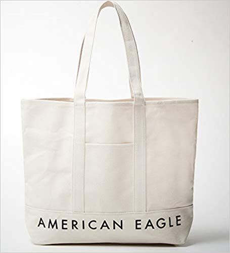 アマゾンで雑誌のsmart(スマート) 2018年 10 月号を買うと、アメリカンイーグルのホワイトトードバッグがついてくる。8/24~。