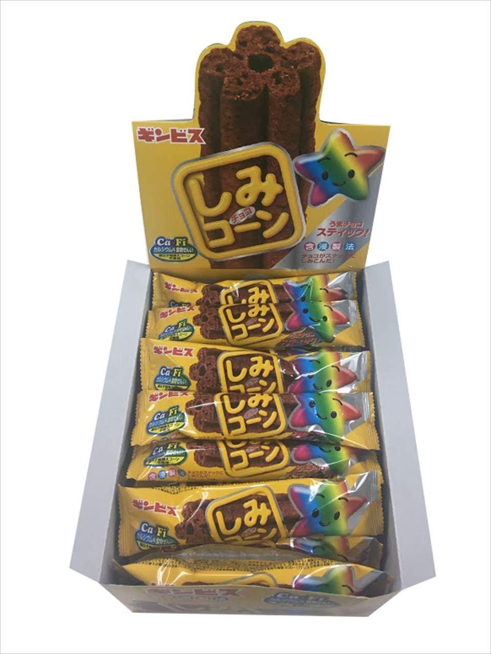 アマゾンでギンビス しみチョココーンスティック 1本×30個が半額クーポンを配信中。
