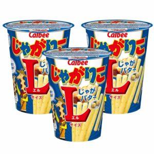 アマゾンパントリーでカルビー じゃがりこ たらこバターLサイズ、じゃがバターLサイズの半額クーポンを配信中。