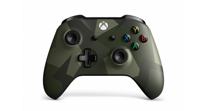 マイクロソフトが『Xbox ワイヤレス コントローラー (アームド フォーセス II)』を数量限定発売へ。Bluetooth、Windows10もワイヤレス接続へ。9/6~。