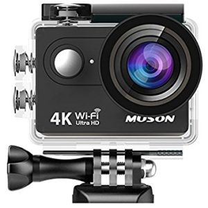アマゾンでCOOAUの4Kアクションカメラ WiFi対応が7880円⇒6698円。