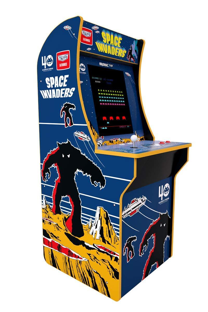 【筐体・種類追加】アマゾンでTastemakersのアーケード筐体「Arcade1Up スペースインベーダー」の予約受付中。日本代理店はタイトー。53892円、12/20~。