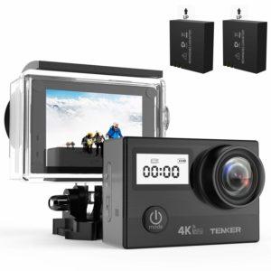 アマゾンでTENKER 4K アクションカメラの割引クーポンを配信中。