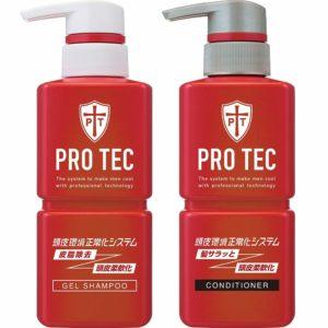 アマゾンでPRO TEC(プロテク) 頭皮ストレッチ シャンプー ポンプ 300g+ コンディショナー ポンプ 300gがタイムセール中。