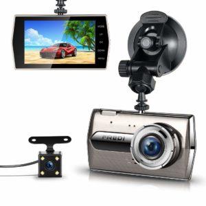 アマゾンでFREDI 超高画質前後カメラドライブレコーダーの割引クーポンを配信中。