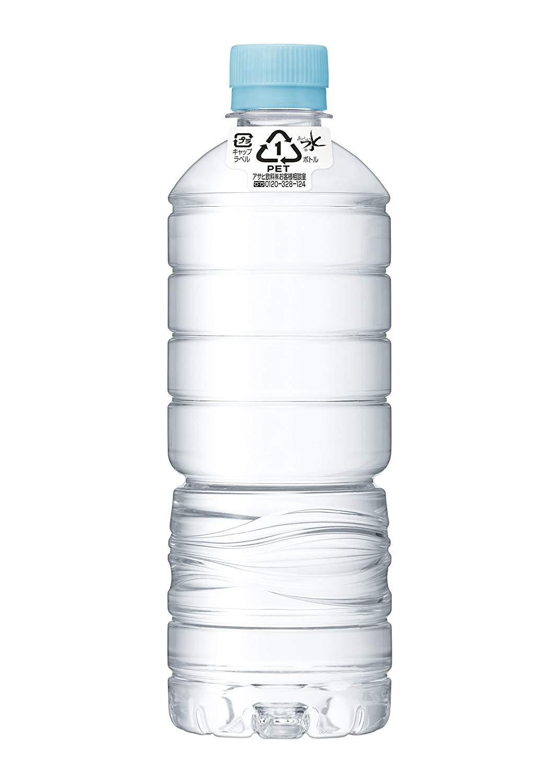 アマゾンでアサヒ飲料 おいしい水 天然水 ラベルレスボトルPET600ml×24本の割引クーポンを配信中。